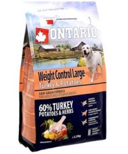 Для собак крупных пород Контроль веса с индейкой и картофелем Large Weight Control Turkey & Potatoes