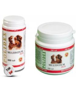 Витаминно-минеральный комплекс Multivitim Plus для собак (общеукрепляющий)