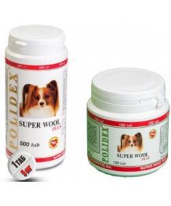 Витаминный комплекс Super Wool plus для собак (для кожи и шерсти)