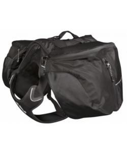 Рюкзак-сумка на собаку Hurtta Outdoors Trail Pack, размер S, чёрный
