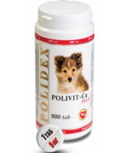 Витаминный комплекс Polivit-Ca plus для щенков, беременных и кормящих собак