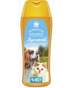 Луговой шампунь От блох и клещей для собак и кошек