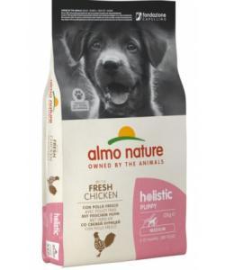 Для щенков средних пород с курицей, Holistic Medium Puppy&Chicken