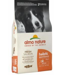 Для взрослых собак средних пород с лососем, Holistic Medium&Salmon