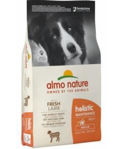 Для взрослых собак средних пород с ягненком, Holistic Medium&Lamb