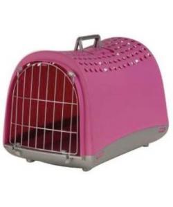 """Переноска для животных """"Linus"""" 50*32*34,5 см, пепельно-розовая"""