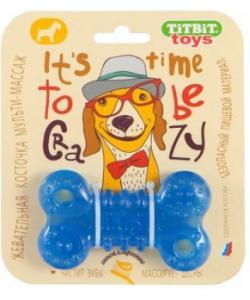 Косточка жевательная (игрушка для собак) 10см
