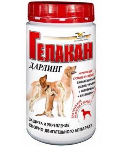 Витамины для суставов взрослых собак Дарлинг (Gelacan Darling), 150г