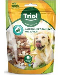Кальцинированные косточки с кроликом для собак (PT13)