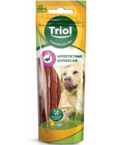 Аппетитные колбаски из утки для собак (PT02)