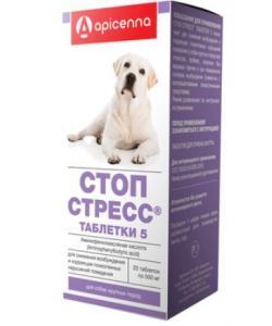 Стоп стресс для собак больше 30 кг, 20 таб