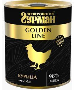 Консервы для собак ,Голден  Курица натуральная в желе