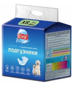 Подгузники для животных весом 2-4 кг (размер XS ) 11 шт.