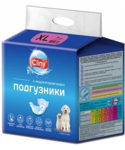 Подгузники для животных весом 15-30кг (размер XL ) 7 шт.