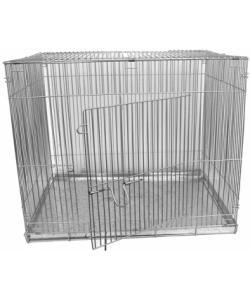 Клетка для собак складная, КЛС-4 50*70*55, металлический поддон