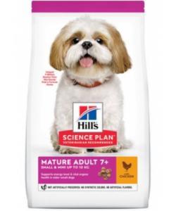 Для пожилых собак мелких и миниатюрных пород с курицей (Mature Adult 7+Small&Miniature)