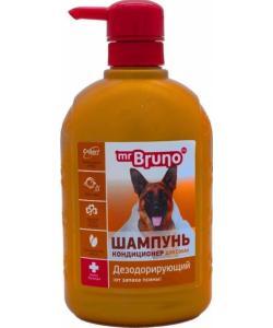 Шампунь-кондиционер дезодорирующий от запаха псины