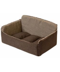 """Лежак-диван """"Самсон"""" - рогожка коричневый"""