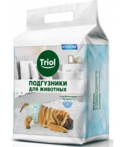 Подгузники для животных весом 22-30 кг (размер XL) 10 шт.