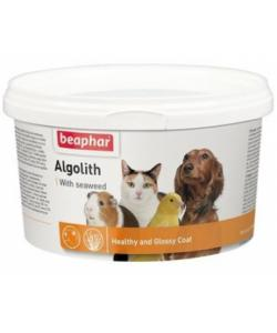 Минеральная смесь для шерсти домашних животных на основе морских водорослей, Algolith