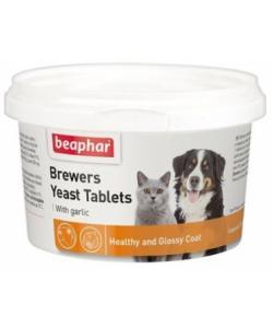 Пивные дрожжи с чесноком для кошек и собак, 250 таб., Brewers Yeast Tablets