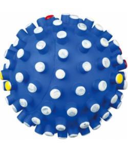 """Игрушка для собак виниловый мячик """"игольчатый"""", 6 см (3428)"""