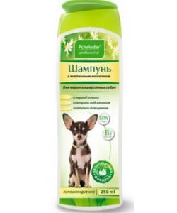 Шампунь гигиенический с маточным молочком для короткошерстных собак