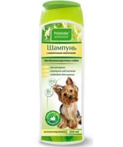 Шампунь гигиенический с маточным молочком для длинношерстных собак