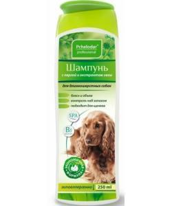 Шампунь гигиенический с пергой и хвоей для длинношерстных собак