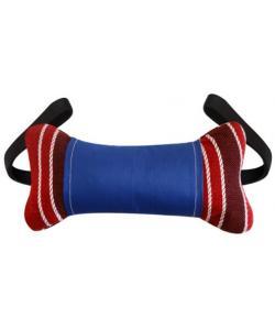 Игрушка для собак кость с 2-мя ручками (текстиль) 20 см