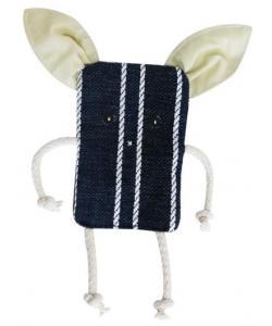 Игрушка для собак шуршащая поросенок (текстиль) 21 см