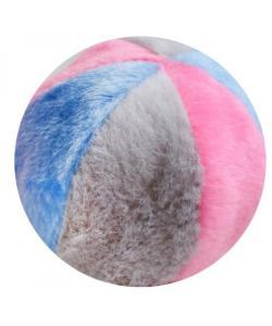 Игрушка для собак мячик иск.мех 9 см (набор 2 шт)