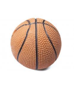 """Игрушка """"Мяч баскетбольный"""" с пищалкой, для собак, винил, 7 см"""