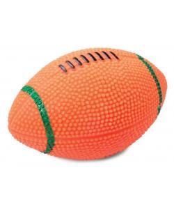 """Игрушка """"Мяч для регби"""" со звуком, для собак, винил, 11,5 см"""