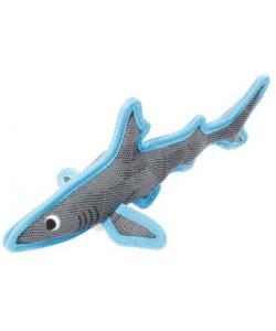 """Игрушка для собак из износостойкого материала """"Акула"""", 33 см"""