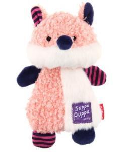 Игрушка для маленьких собак Лиса с пищалкой, серия SUPPA PUPPA (85006) 17,5см