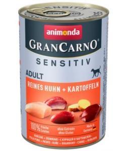 Консервы для взрослых собак с чувствительным пищеварением, c курицей и картофелем