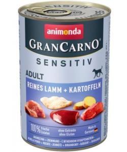 Консервы для взрослых собак с чувствительным пищеварением, c ягненком и картофелем