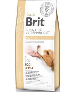 Беззерновая диета для собак при печеночной недостаточности VD Dog Grain Free Hepatic