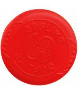 Диск для фрисби, для игры на воде и суше, коралловый, для собак, ЭВА, 18см