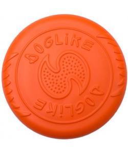 Диск для фрисби, для игры на воде и суше, оранжевый, для собак, ЭВА