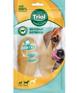 Ботинки вкусные для собак DENTAL, 7,5см (уп.2шт.)