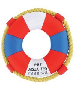 """Игрушка """"Спасательный круг"""" для собак, неопрен, диаметр 23 см"""