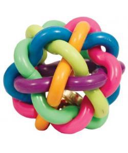 """Игрушка для собак """"Мяч-лабиринт с колокольчиком"""", резина"""