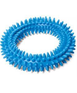 """Игрушка для собак из цельнолитой резины """"Кольцо с шипами"""", 11,5см"""