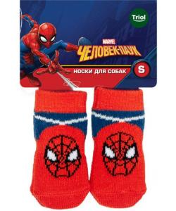Носки для собак Marvel Человек-паук, размер S, 2,5*6см