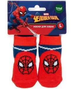 Носки для собак Marvel Человек-паук, размер L, 3,5*9см