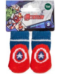 Носки для собак Marvel Капитан Америка, размер S, 2,5*6см