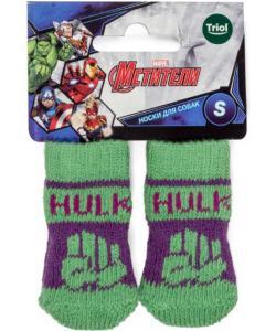 Носки для собак Marvel Халк, размер S, 2,5*6см