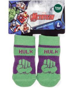 Носки для собак Marvel Халк, размер L, 3,5*9см